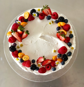 Quadruple Berry Cake (Pick Up / Delivery)