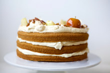 Sweet Potato Cake with Pumpkin Spice Frosting