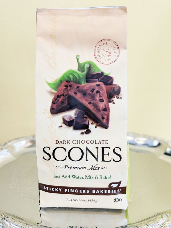 Dark Chocolate Scones