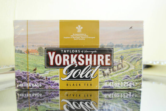 Yorkshire Gold 40 Tea Bags