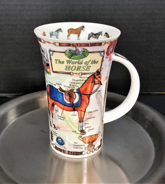 Dunoon Glencoe World of Horse Mug