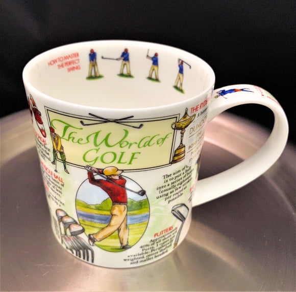 Dunoon Orkney World of Golf Mug