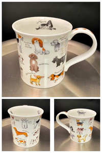 Dunoon Bute Animal Breeds Dog Mug