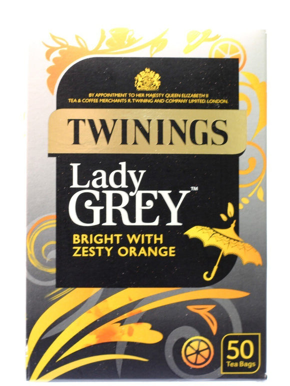 Twinings  Lady  Grey - 50 Bags