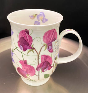 Dunoon Suffolk Purple Sweet Peas Mug