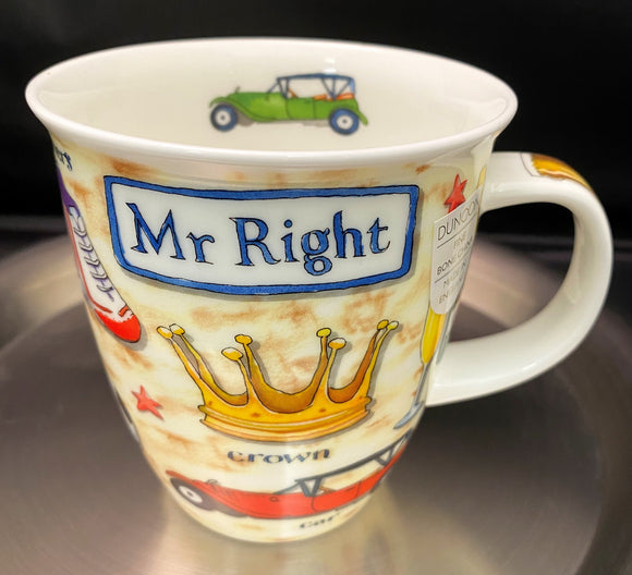 Dunoon Nevis Mr. Right Mug