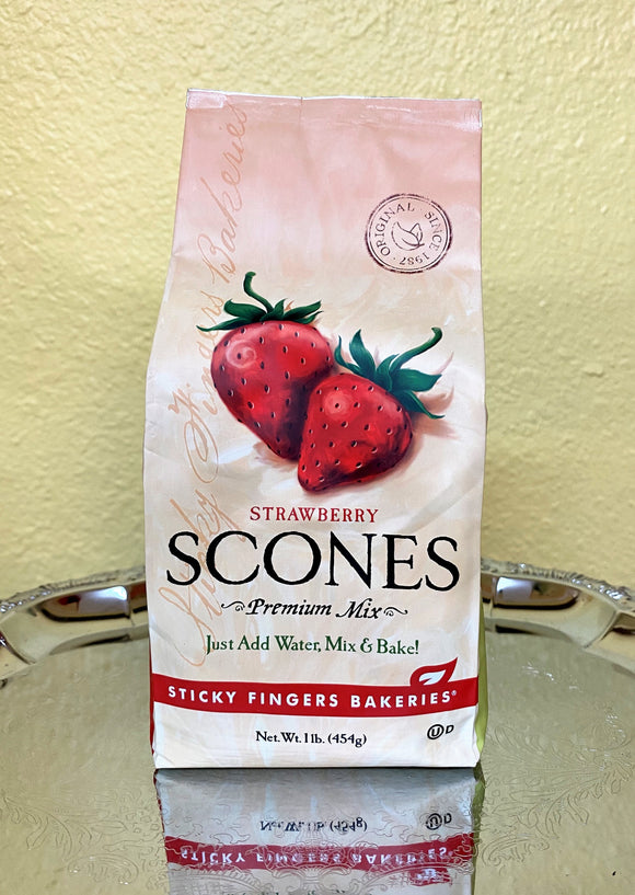 Strawberry Scones