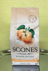 California Apricot Scones