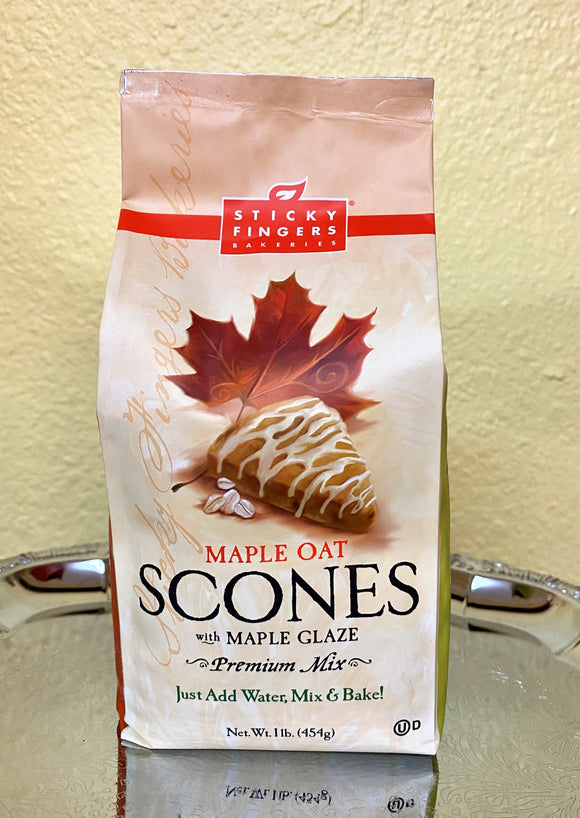 Maple Oat Scone with Glaze