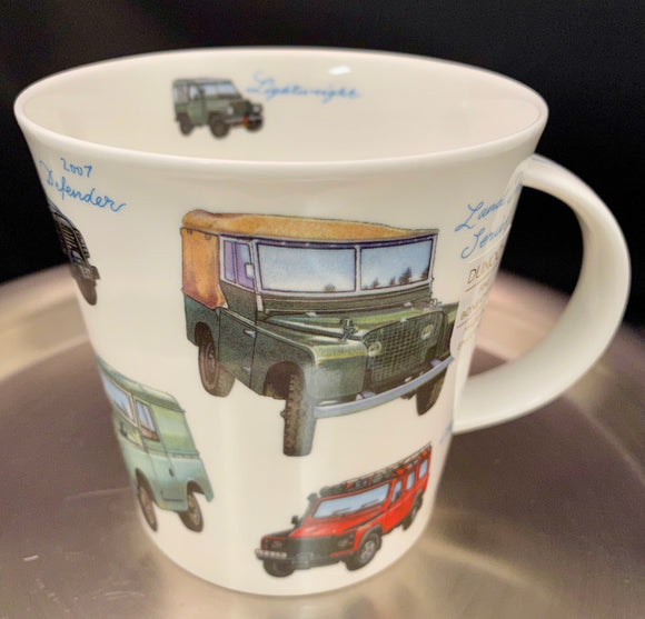 Dunoon Cairngorm Classic Land Rovers Mug