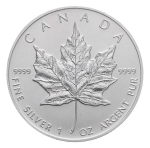 1oz Silver Canadian Maple Leaf (Our Year Choice)