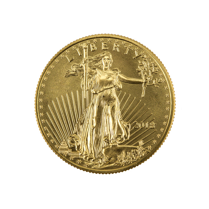 1/2 oz Gold American Eagle (Our Year Choice) Brilliant UNC