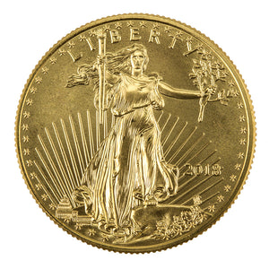 $50 Gold American Eagle 1 oz BU (Our Year Choice)