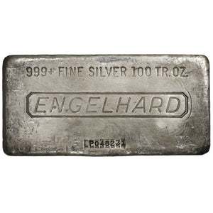 Silver Bar 100 oz. (Our Choice of Mint)