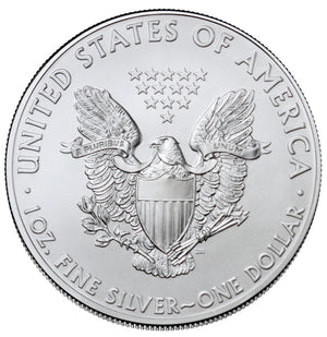 $1 American Silver Eagle 1 oz .999 Fine BU (our year choice)