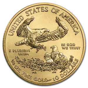 1/4 oz Gold American Eagle (Our Year Choice) Brilliant UNC
