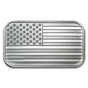 1oz .999 Silver Bar (Our Year Choice)