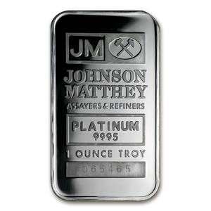 1oz Platinum Bar (our Mint choice)