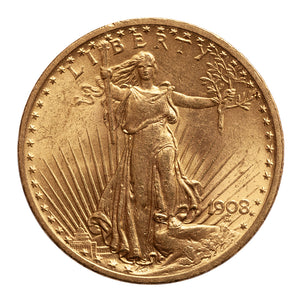 $20 St Gaudens BU (our year choice)