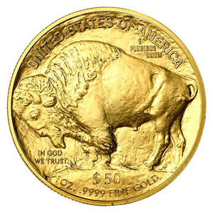 $50 Gold American Buffalo 1 oz BU (our year choice)