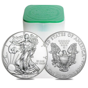 Monster Box of 500 x 1oz $1 .999 Fine Silver American Eagles