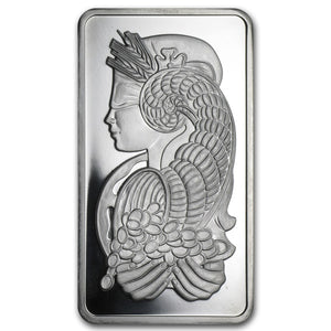 10oz Platinum Bar (our Mint choice)