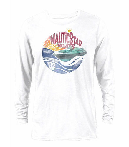 Sunset Men's Long Sleeve Performance Tee