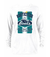 Load image into Gallery viewer, Retro Boating Men's Long Sleeve Performance T-Shirt