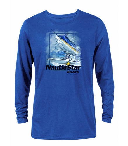 Deep Sea Men's Long Sleeve Performance T-Shirt