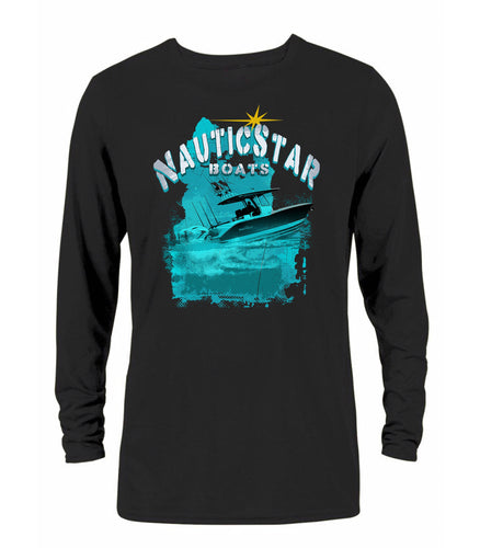NauticStar Boats Men's Long Sleeve Performance T-Shirt