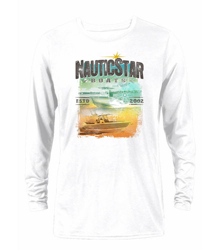 NauticStar Boating Men's Long Sleeve Performance T-Shirt