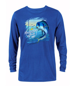 Mahi Coastal Men's Long Sleeve Performance T-Shirt