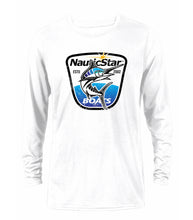 Load image into Gallery viewer, Fish Crest Men's Long Sleeve Performance T-Shirt
