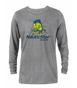 Mahi-Mahi Men's Long Sleeve Performance T-Shirt
