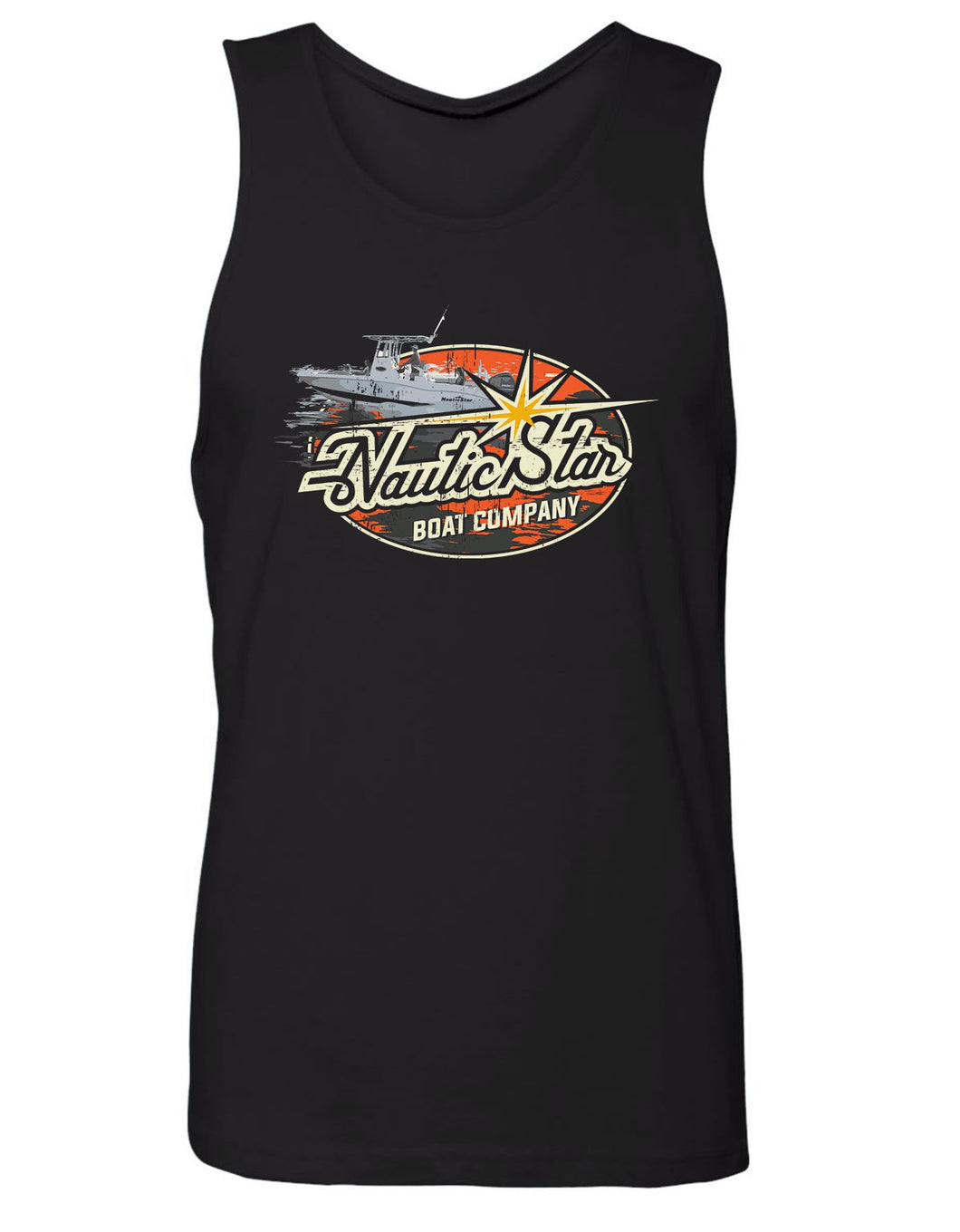 NS Boats Old School Men's Tank Top