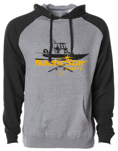 Let's Fish Black Men's Hoodie