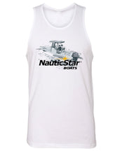 Load image into Gallery viewer, NS Boat Logo Men's Tank Top