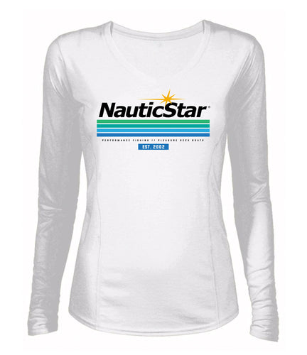 NauticStar Waveline Women's Long Sleeve performance T-Shirt
