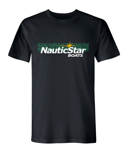 NauticStar Green Waves Men's T-Shirt