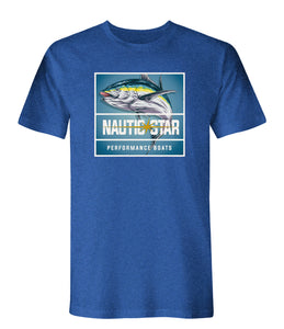 NauticStar Fish Square Men's T-Shirt
