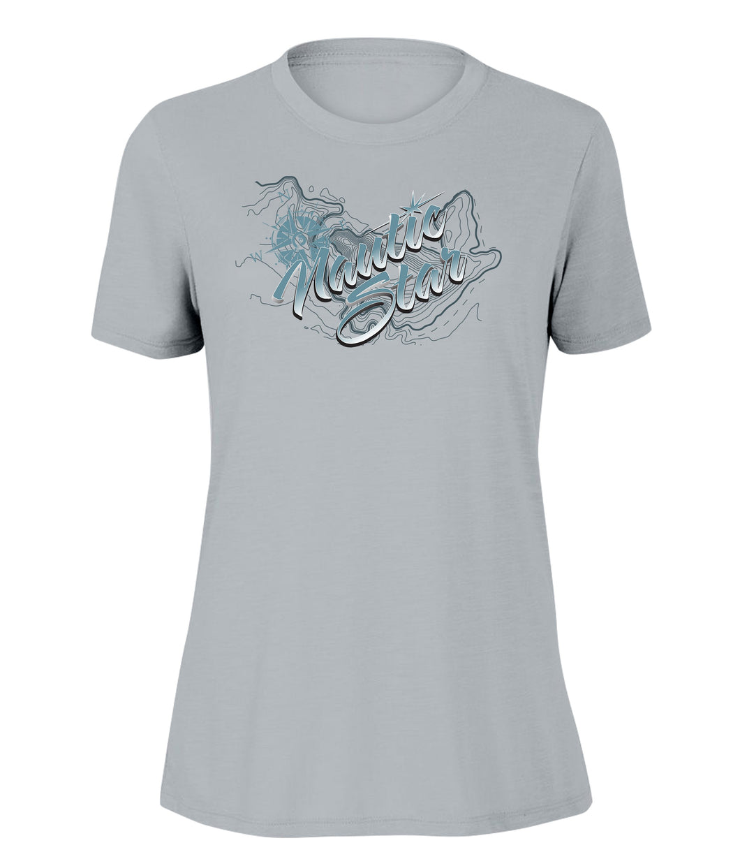 NauticStar Depth Women's Slub T-Shirt
