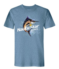 Load image into Gallery viewer, NauticStar Watercolor Swordfish Men's T-Shirt