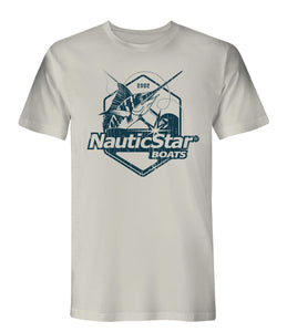 NauticStar Fish Crest Men's T-Shirt