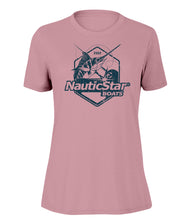 Load image into Gallery viewer, NauticStar Fish Crest Women's Slub T-Shirt