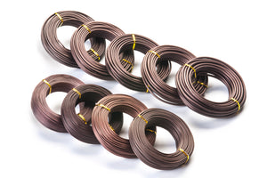 Wire -  500g, various gauges, anodised aluminium