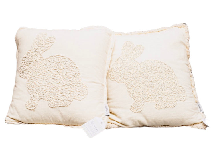 Bunny Throw Pillow - Restoration Oak