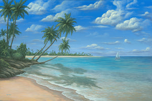 """Blue Paradise"" - Art by Kim Hight"