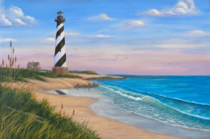 """Cape Hatteras"" - Art by Kim Hight"
