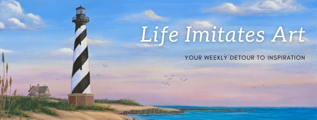 Life Imitates Art Blog by Kim Hight