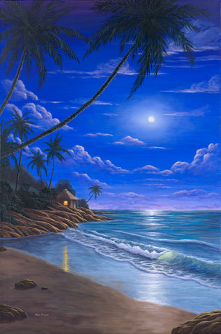 Tropical Moonlight by Kim Hight